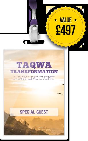 Taqwa Transformation Event Pass