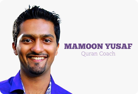Mamoon Yusaf - Quran Coach